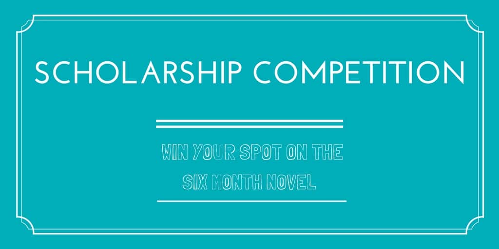 Win a scholarship place on the Six Month Novel